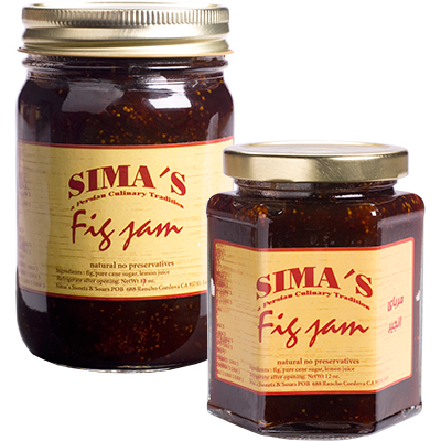 Fig Jam - Black Mission Figs - All Natural + No Preservatives Sima's ...